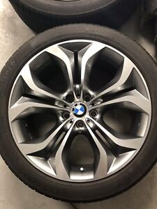 """BMW X5 20"""" mags and tires"""