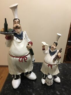 Wanted: Two chef/waiter statues