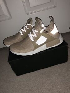 Brand New DS NMD XR1 PK Size US 8.5 Linen
