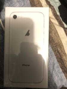 iPhone 8 64gb sealed in box brand new