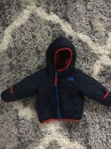 North face boys 12 month reversible jacket