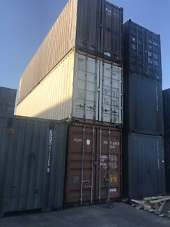 40' High Cube Shipping Containers, Seaworthy Condition, no leaks