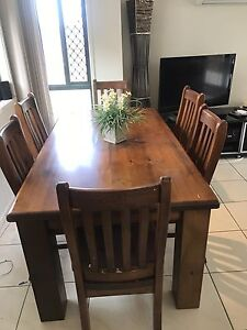 6 Seater Dining Table North Lakes Pine Rivers Area Preview