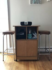Stand and Stools
