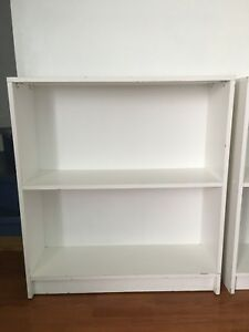 White Bookshelf (set of two)