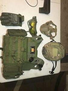 Air soft tactical gear