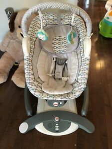 $80 4 in 1 chair and glider fisher price
