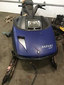 1990 safari 377 ski doo part out