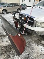POWER ANGLE WESTERN PLOW FITS 05 DODGE 1/2t $1700 London Ontario Preview