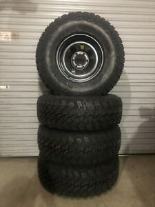 Brand new 285/75R16 Kanati Mud Hogs on brand new ROH 16x8 black wheels Caboolture Caboolture Area Preview