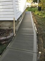 Professional Concrete Services: Quality Work Every Time!