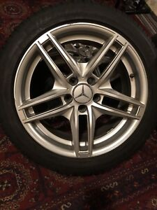 Mercedes Rims and Tires 235/45R17