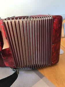 Italian Soparni 2 row accordion