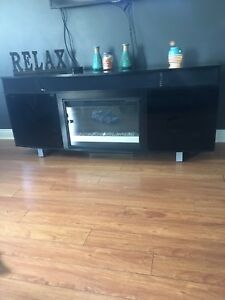 Sound bar/ electric fire place