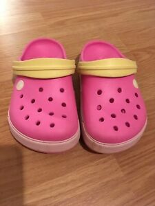 Youth size 1 Crocs