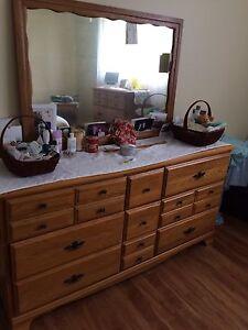 Three piece bedroom set
