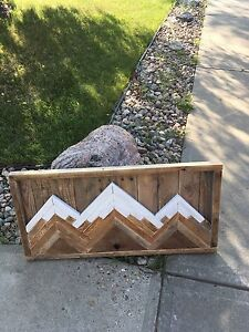 Wooden Mountain Art 3D