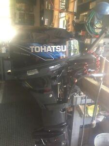 Tohatsu 15 hp 4 stroke outboard
