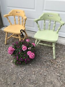 Cute Pair of Antique Chairs.