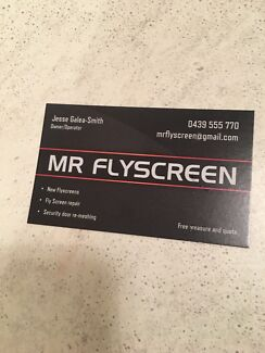 Flyscreen and Security door repairs