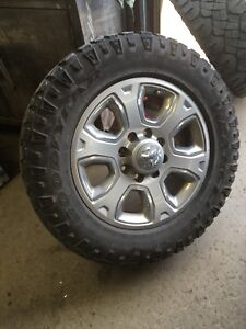 Dodge Ram 2500 rims and tires