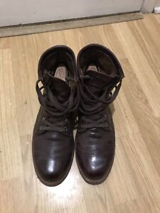Chippewa leather boots size 10D