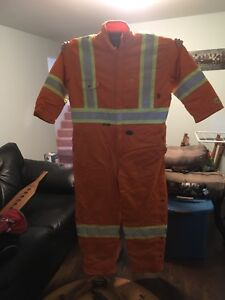 Pioneer 2x mens winter coveralls fire proof