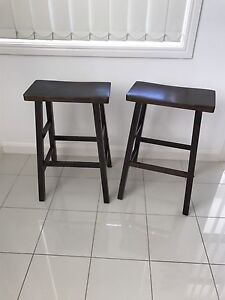 Stained Wood Stools Sutherland Sutherland Area Preview