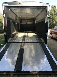 Norbert enclosed trailer