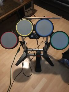 Rockband instruments with 7 games