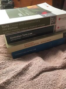 First Year University Law Textbooks Loganholme Logan Area Preview