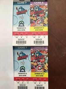 A PAIR OF ROCKET CLUB SEATS TICKETS 40$ FOR THE PAIR