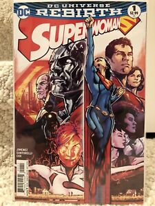 Superwoman Rebirth #1