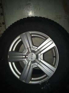 LT245/70R17 chev/gmc tires rims and sensors