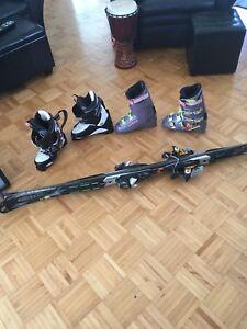 Ski + Bottes