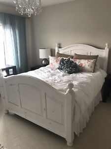 Solid Pine Full Bed