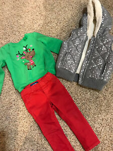 Size 2 cute Christmas clothing
