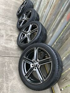 17 rims and tires 5 bolt 5x114 5x100