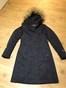 Ladies XS Marmot black winter coat