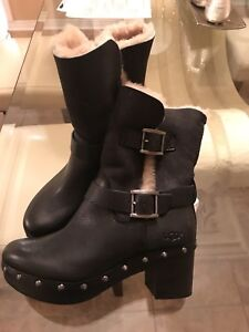 UGGs leather winter boots