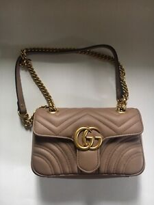 Gucci Marmont Mini purse in Dusty Pink