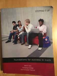 Foundations for Success in Math Textbook