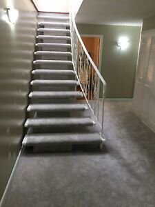 CARPET STAIR INSTALLATION HIGH QUALITY OF WORK!