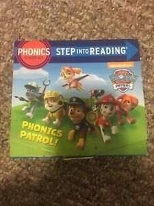 Paw patrol phonics step into reading