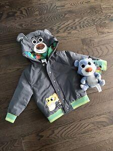 Baloo Stuffie and Jungle Book Coat