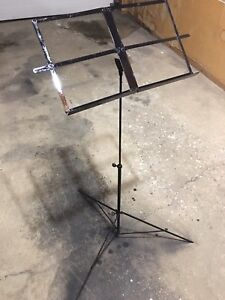 Old music stand