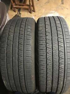 235/60r18 (2 tires) all season