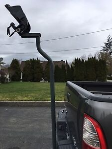 Outboard motor Hitch mount for transporting