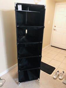 5 compartment clothes storage on wheels (Moving sale!)