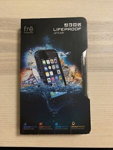 Black lifeproof case for iPhone 5s